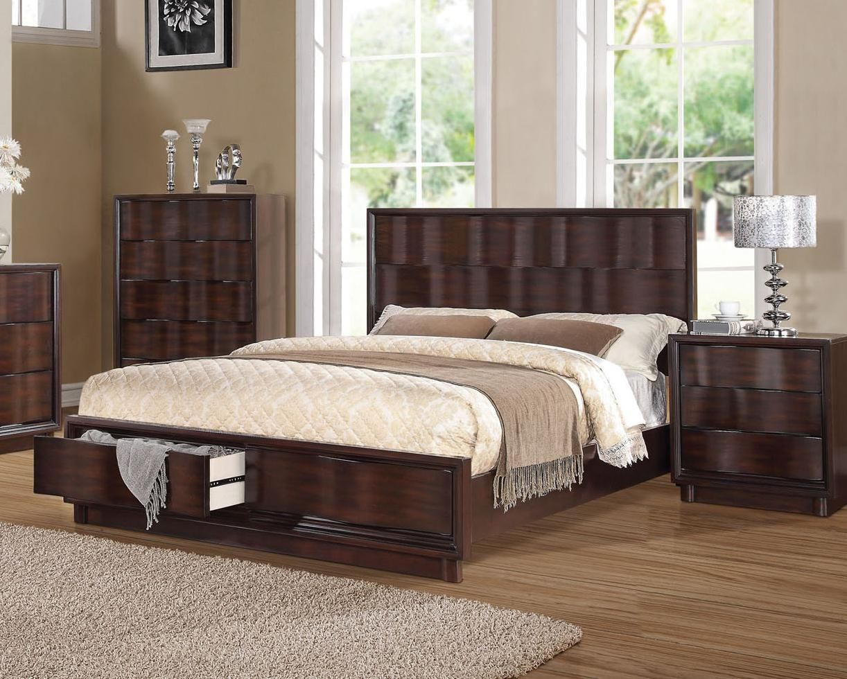 Travell Queen Bed by Acme Furniture | Furniture | Pinterest | Camas ...