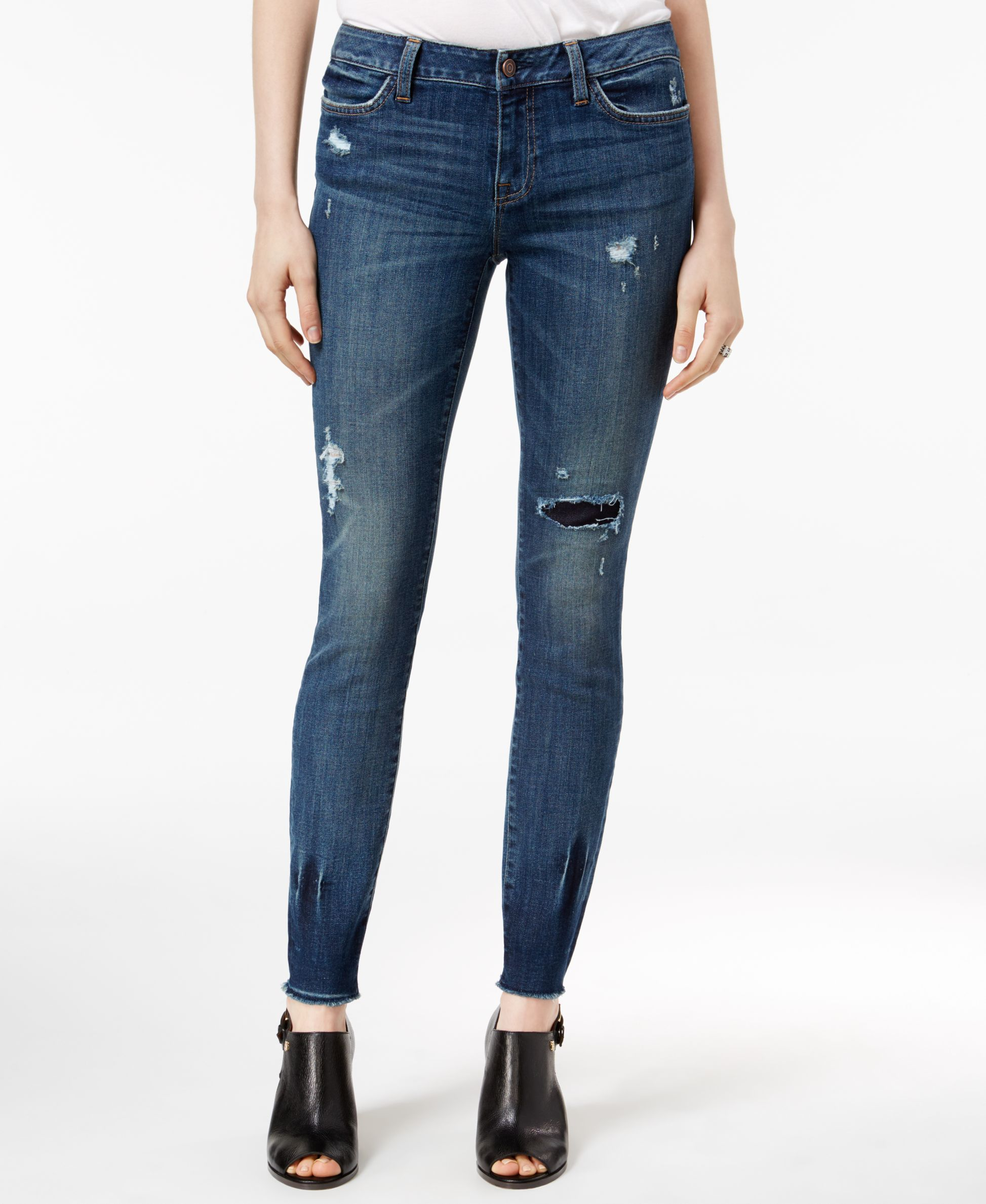 f995f0ae Tommy Hilfiger Ripped Rinse Wash Skinny Jeans | Things I love ...