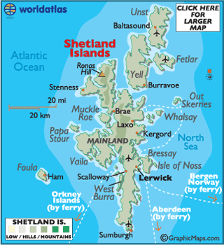 Which Uk Country Has About  Islands Off Its Coast