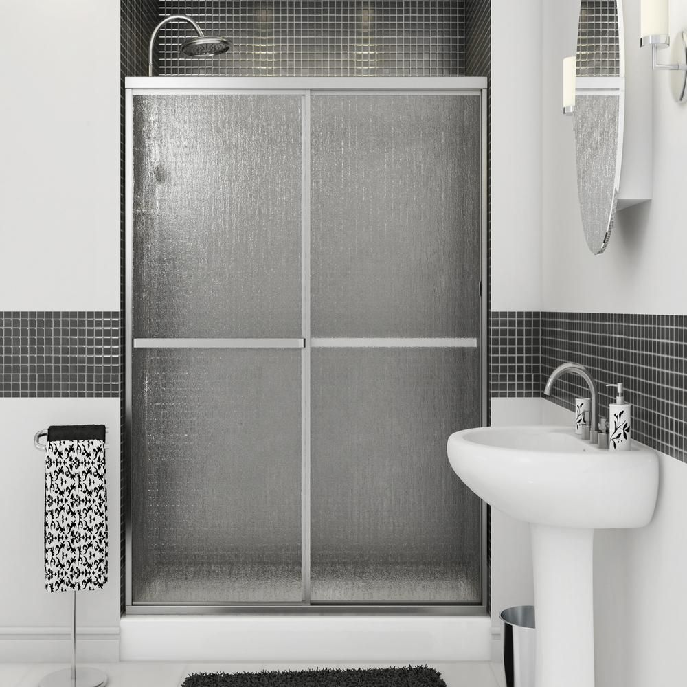 Aquatic Atwater 42 In 47 5 In X 68 In Framed Sliding Shower