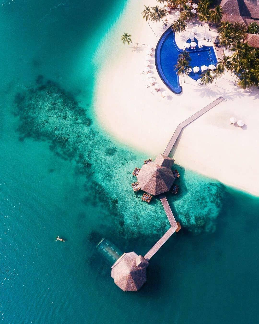 Conrad Maldives Rangali Island #Maldives   Traum-Urlaub ...
