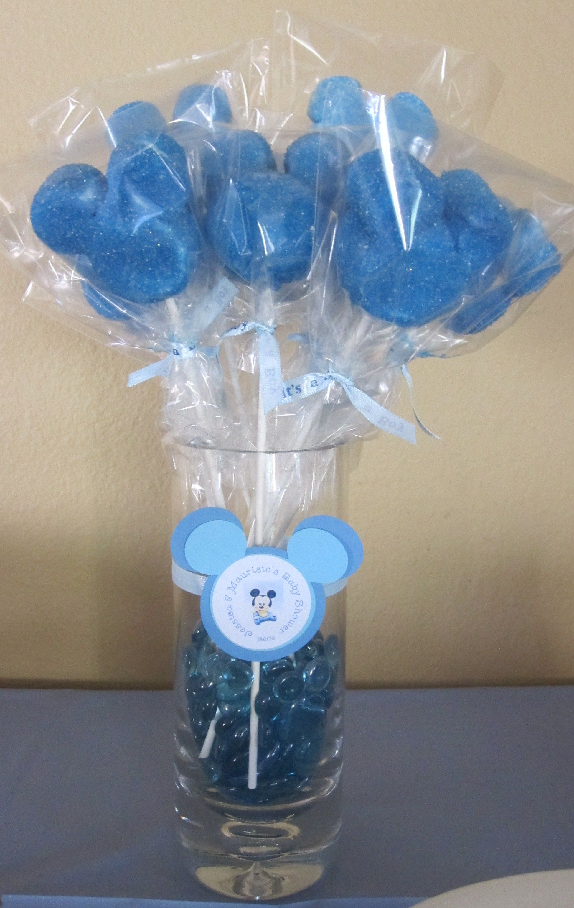 Minnie and Mickey Mouse baby shower favors by Marshmallowfavors