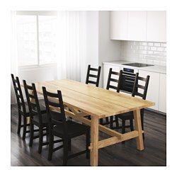 Mockelby Table Oak Ikea Ikea Table Dining Table Table