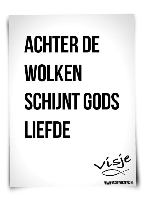 Citaten Over God : Gods liefde de website van visje teksten pinterest