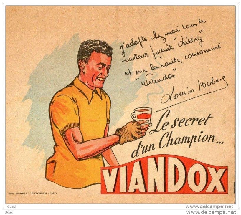 Album A Colorier Viandox Louison Bobet Tour De France 1955 Cyclisme