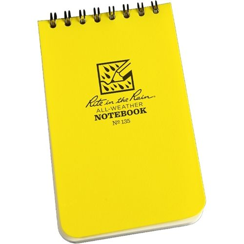 Rite In The Rain 135 All Weather Universal Spiral Notebook Yellow