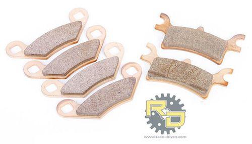 Rear Brake Pads For Polaris Magnum 330 2X4 4X4 2003 2004 2005 2006