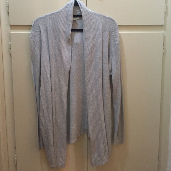 Heather cardigan: Large Great basic:  Light grey ribbed cardigan.  This will be a staple in your closet!!  ✅accepting offers Old Navy Sweaters Cardigans