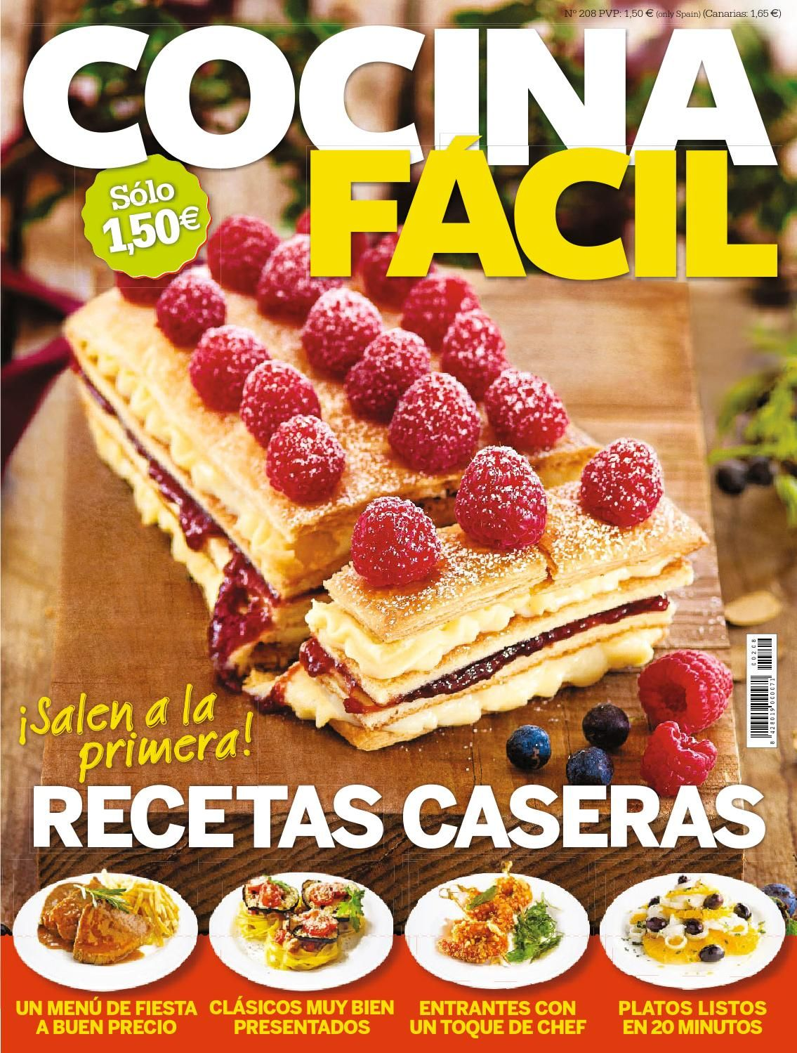 Revista cocina facil precio