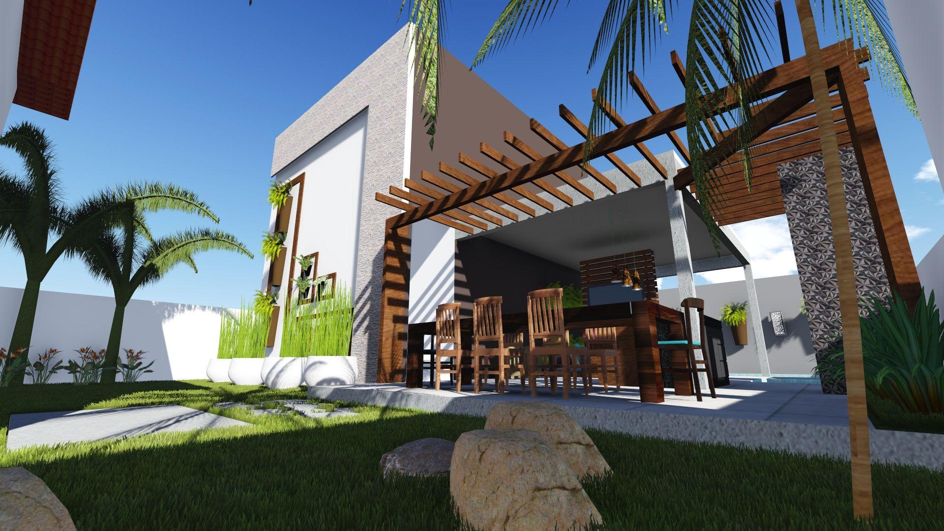 Projeto de Área de lazer em condomínio no bairro Ibituruna Montes Claros - MG  #escritóriovidaverde #AnaPaulaGonçalves #arquiteturaepaisagismo #contrateumarquiteto