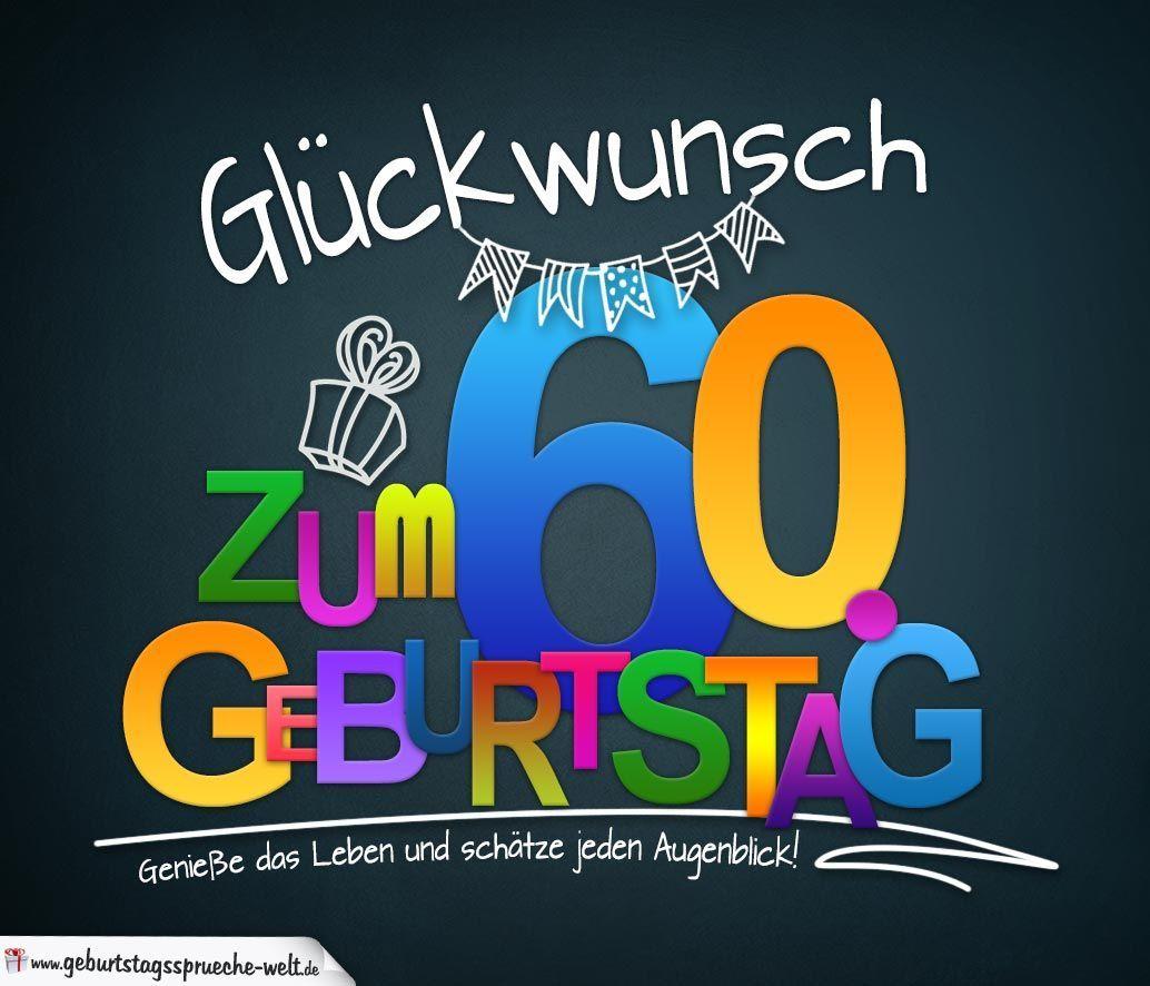 Spruche Zum 60 Geburtstag Karte Mit Schonem Spruch Zum