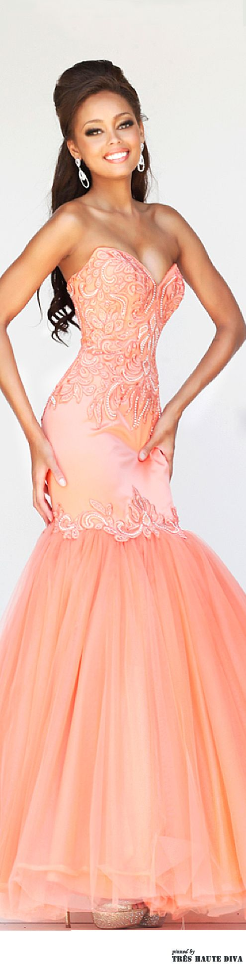 I love this for a teen pageant prom dressevening dress cocktail