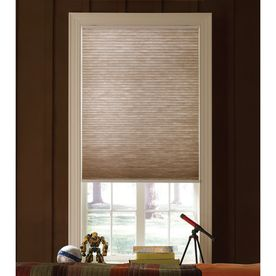 custom size now by levolor toffee light filtering cordless polyester cellular shade common actual x