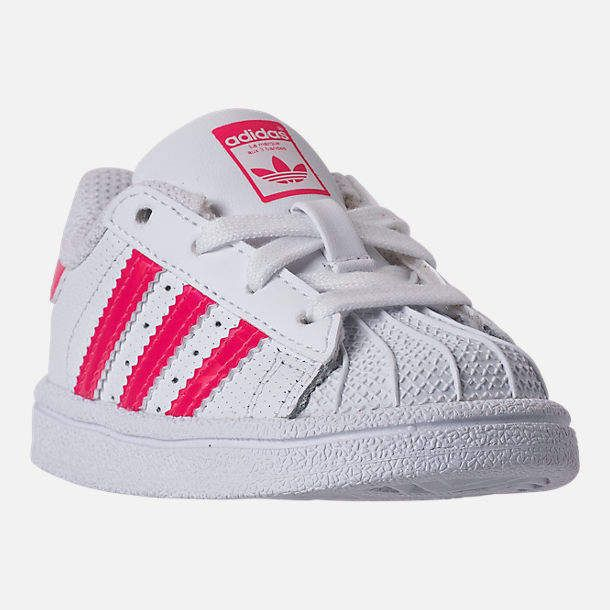 adidas Girls' Toddler Superstar Casual Shoes | Baby girl shoes ...