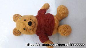Amigurumi Yapılışı : Winnie the pooh ayıcığımız amigurumi yapılışı pinterest doll