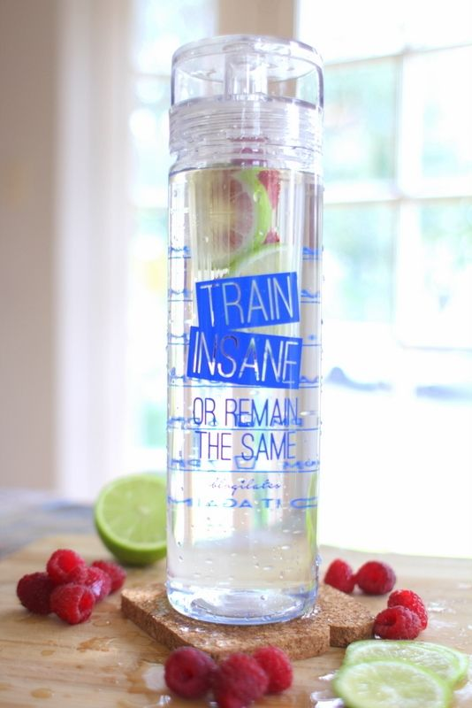 Train Insane Detox Timer Bottle