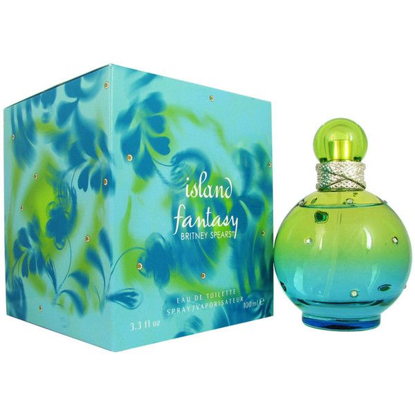 Britney Spears Island ($22) ❤ liked on Polyvore featuring beauty products, fragrance, blue, britney spears fragrance, flower perfume, flower fragrance, britney spears perfume and fruity perfume