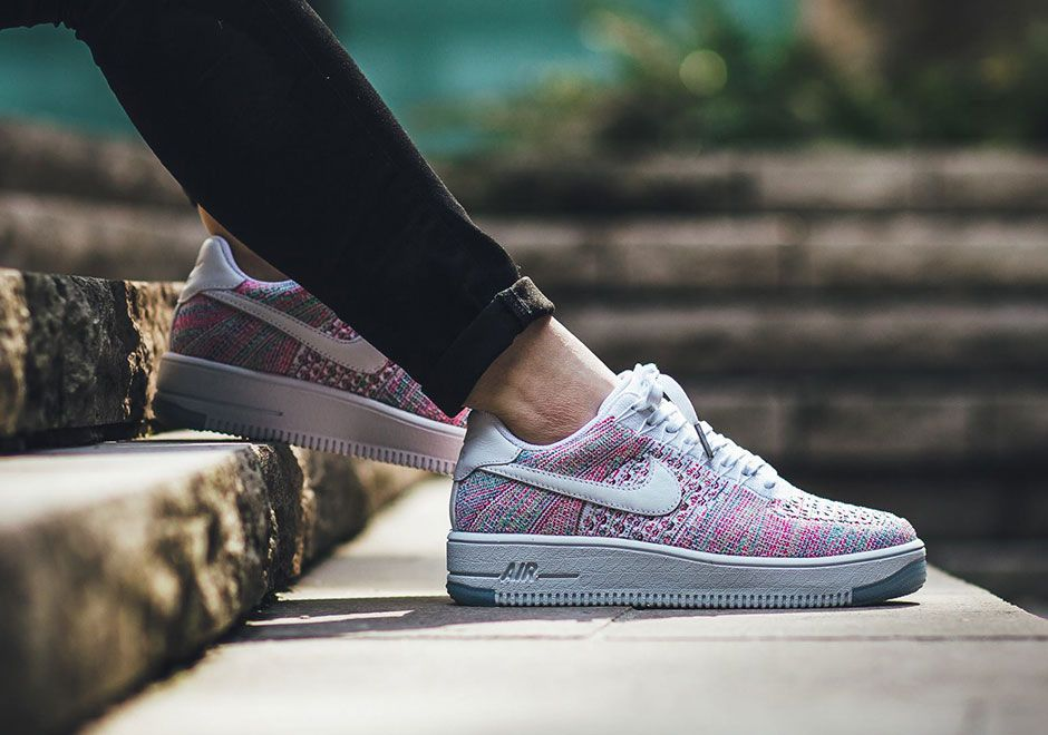 The Women Get Their Very Own Version Of The Nike Air Force 1 Ultra Flyknit  Low Multicolor • KicksOnFire.com