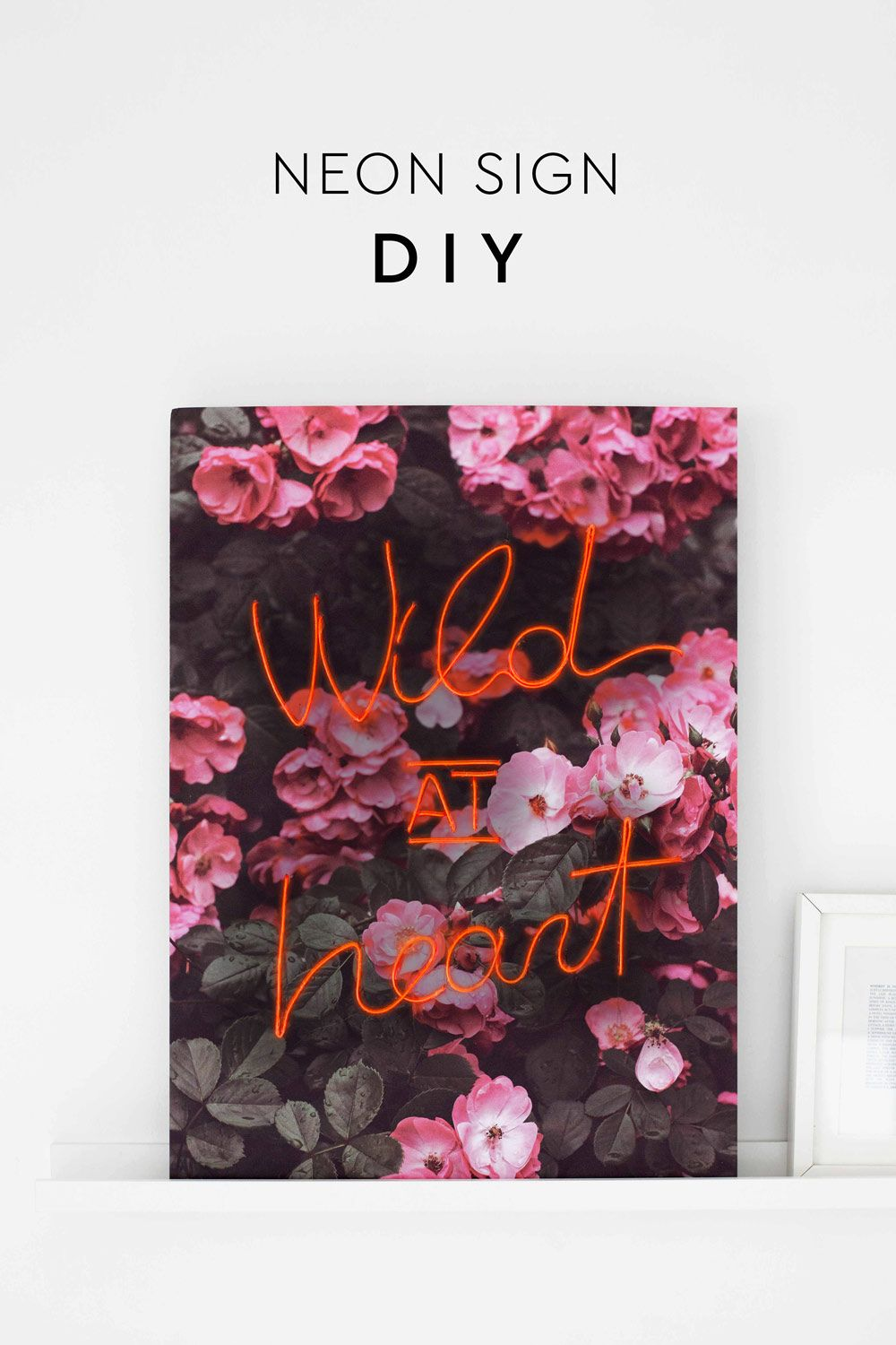 Budget friendly Neon Sign DIY