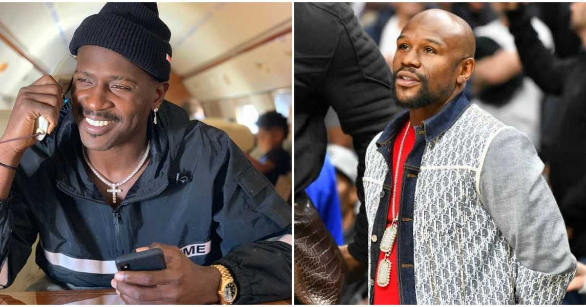 Antonio brown claims floyd mayweather is training him for