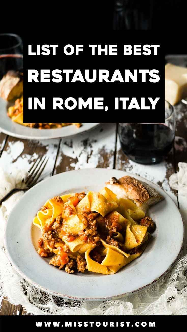 Photo of Where to Eat in Rome – Best Restaurants (Tips from Locals!)   #babycaretips #bookshelfdecor #…