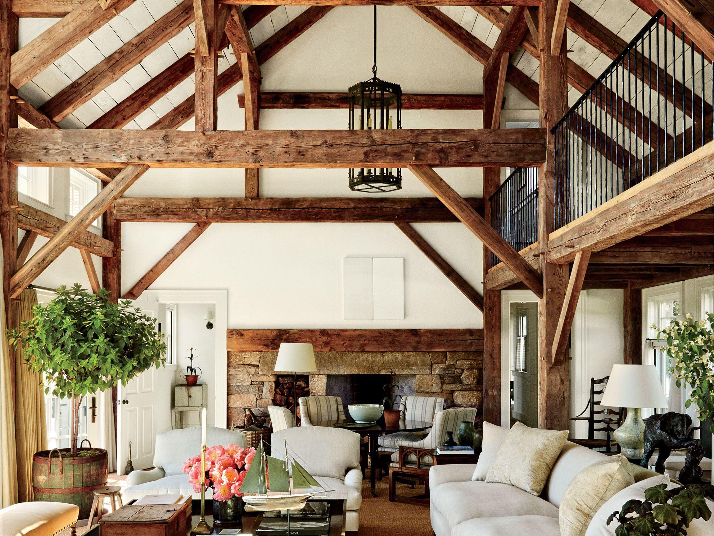 7x Klassiek Interieur : 7x de mooiste huizen met houten balken pinterest houten balken