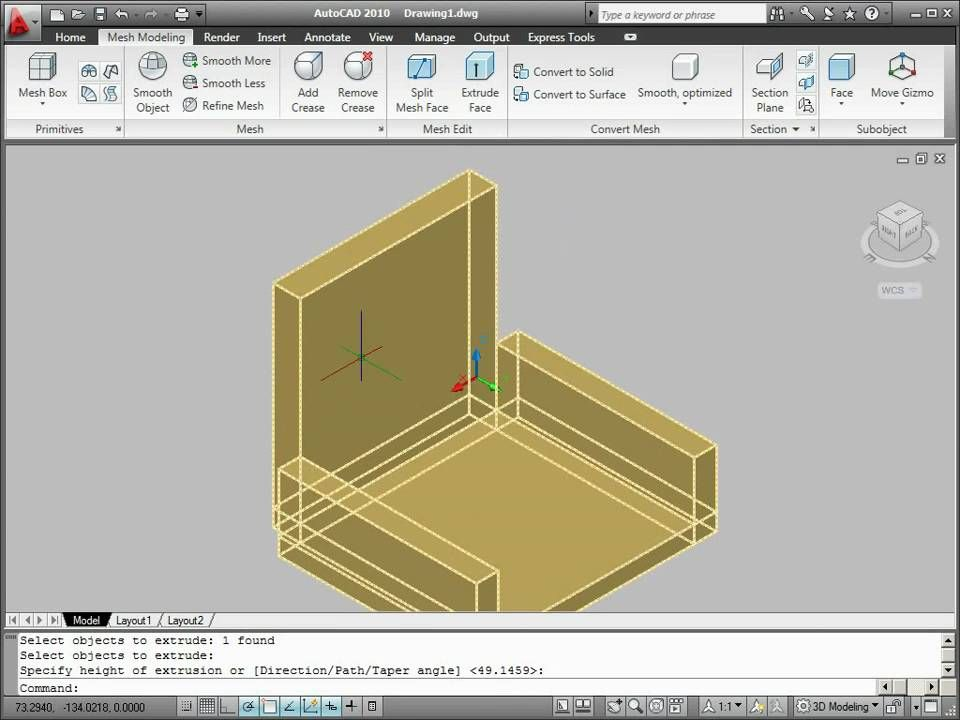 Drawing Smooth Lines In Autocad : Autocad d bridge tutorial