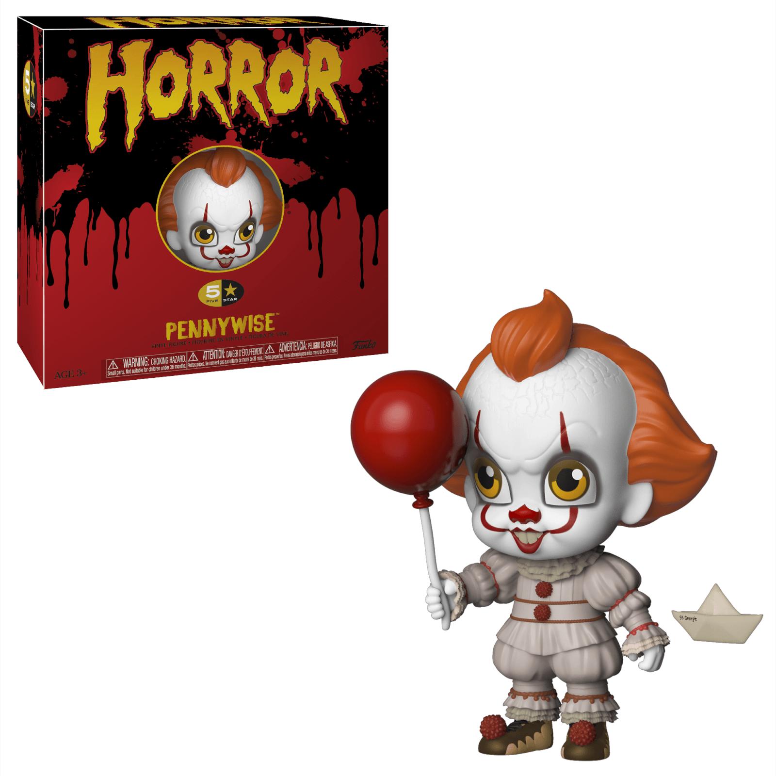Horror 2019, Toy NEU Pennywise Funko 5 Star