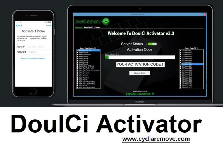 Practical Option Here iCloud Bypass Activation iOS 11 2 5