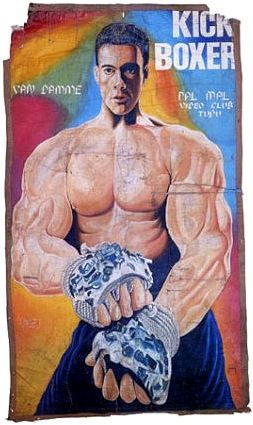 Van Damme Has Been Working Out Movie Posters Vintage Film