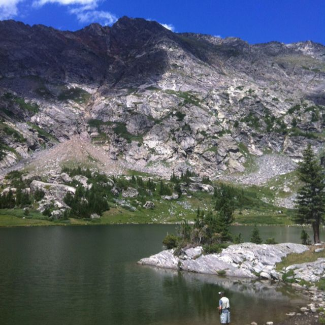 Great fly fishing off the missouri lakes trail off for Fishing lakes in missouri