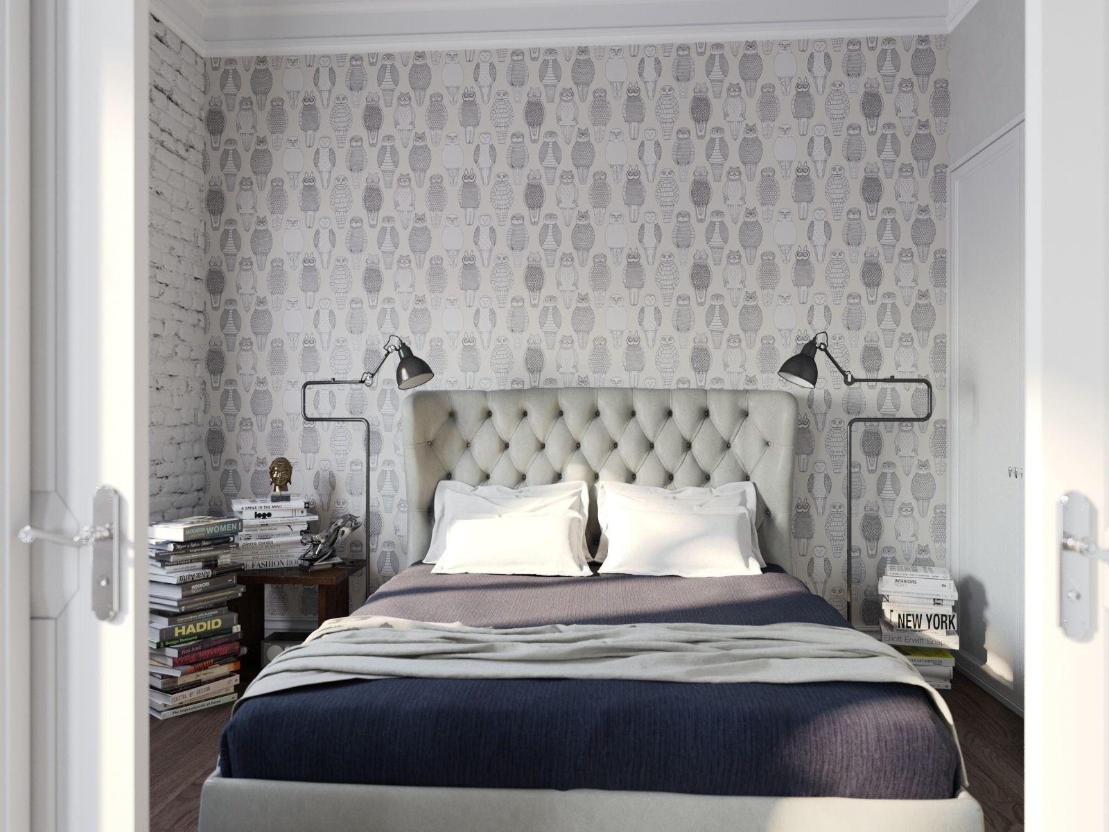 Owl wallpaper Home decor, Interior design, Vintage
