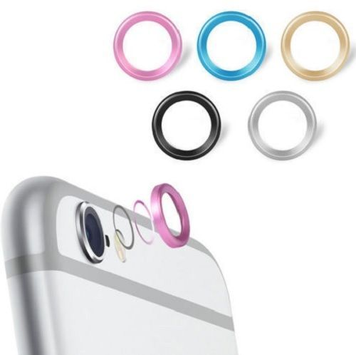 Rear Camera Glass Metal Lens Protector Hoop Ring Guard Circle Case Cover PAPC109 #UnbrandedGeneric