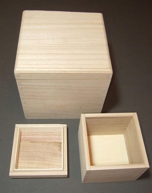 Wooden Plain Box Storage Jewellery Wood Unpainted Keepsake Memory Decoupage A1