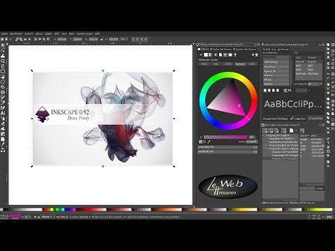 vektorgrafik tutorials mit inkscape 001 eine einfuhrung verlustfreie grafiken youtube erstellen grafik flügel vektor einhorn