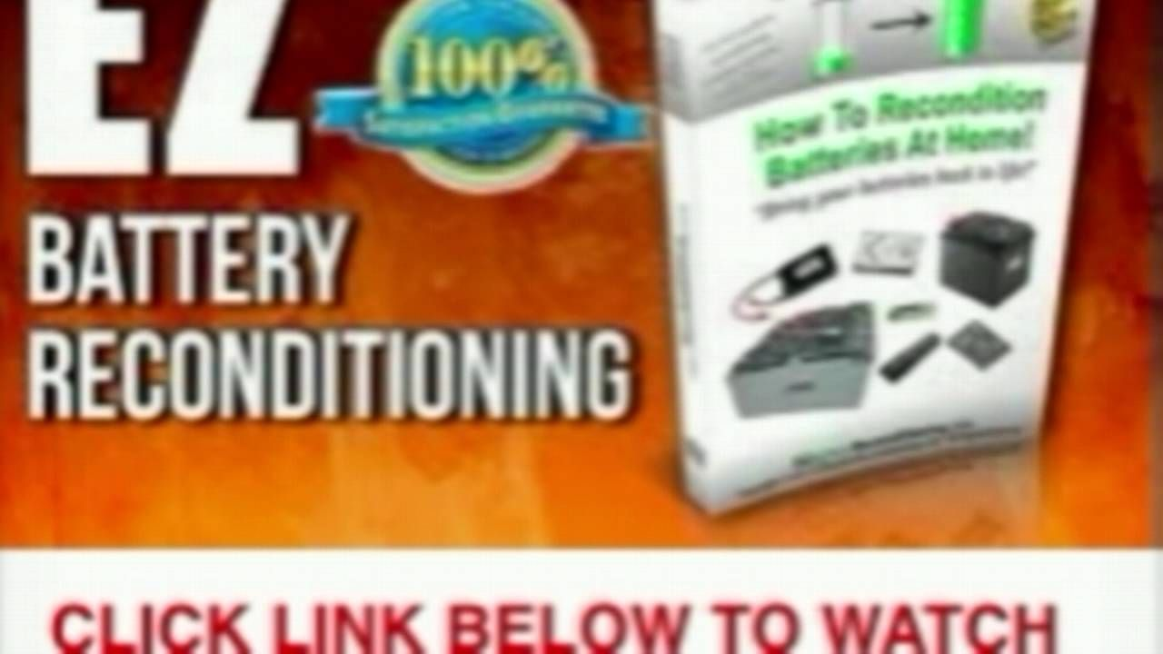 EZ Battery Reconditioning Review *DO NOT* Buy EZ Battery