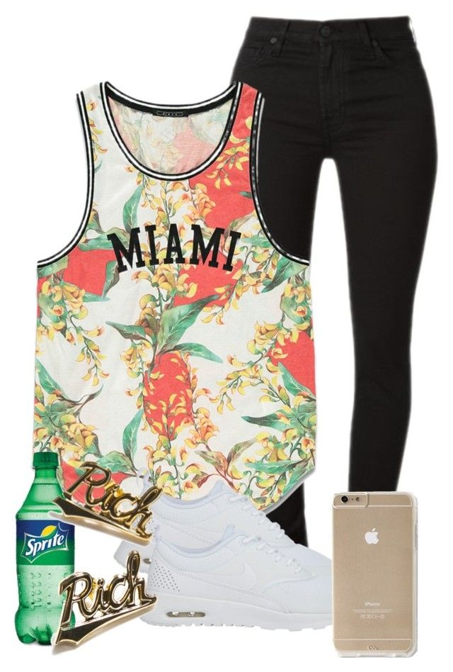 """""""Untitled #194"""" by muvaaliyah ❤ liked on Polyvore featuring Forever 21, NIKE and Joyrich"""