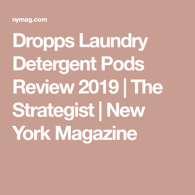 Dropps Detergent Pods Have Saved Me 150 A Year On Soap Laundry