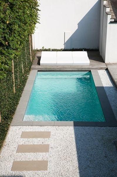 Piscina peque a jardin pinterest piscinas peque os - Piscinas pequenas prefabricadas ...