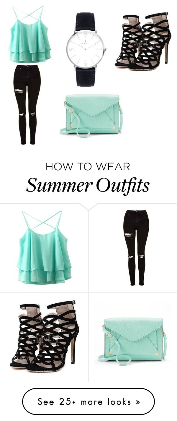 """""""Outfit Summer"""" by carmen-kogler on Polyvore featuring Topshop and Apt. 9"""
