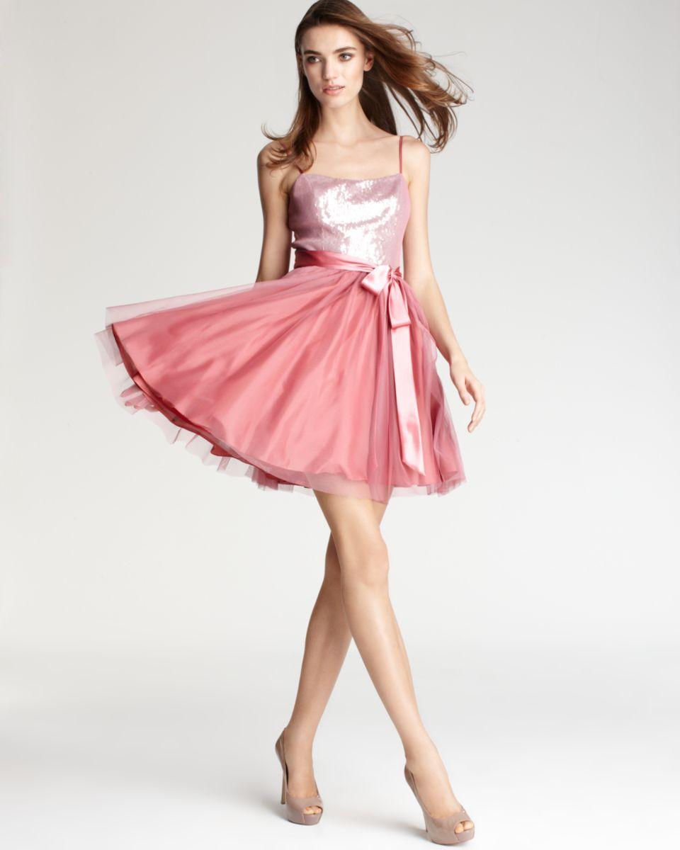 Aqua Rose Pink Mesh Sequined Dress | Fashion: My Style | Pinterest ...