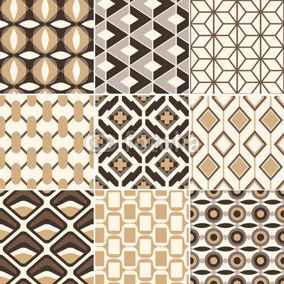 papier peint r tro motif g om trique or transparent pixers nous vivons pour changer 21. Black Bedroom Furniture Sets. Home Design Ideas