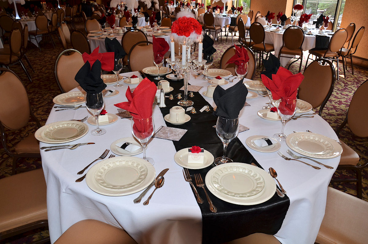 red and white table decorations. Black White Red Gold Reception Decorations | Good Luck And Welcome! Wedding For Jay Stanley Pinterest Reception, Centerpieces Stuff Table R
