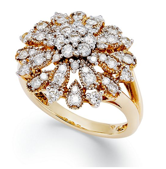 YellOra diamond ring