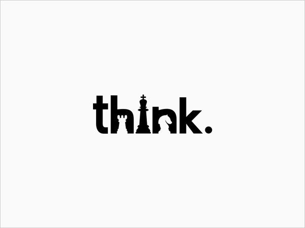 50 Creative Negative Space Logo Designs