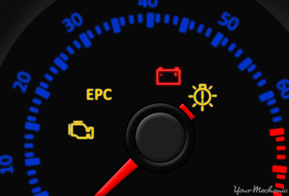 What Does The Electronic Power Control Epc Warning Light Mean Yourmechanic Advice Warning Lights Lit Meaning Light