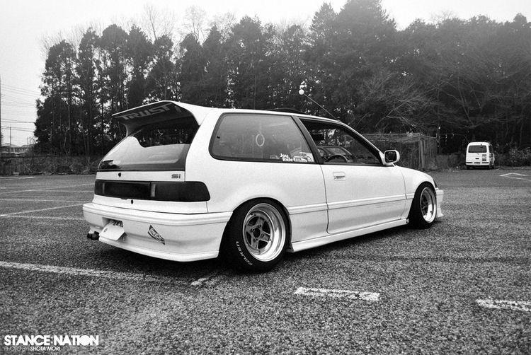 1990 Honda Civic Hatchback With SSR MKII