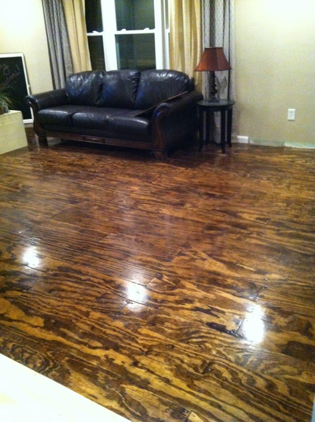 Plywood Floor Diy Plywood Flooring Diy Burnt Plywood Floor Wood Floor Design