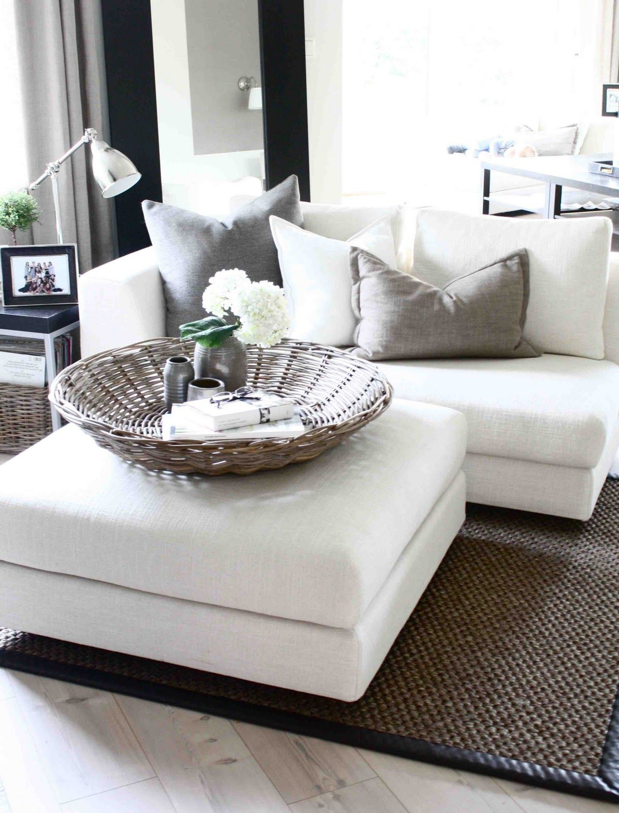 White Loveseat If Only My Husband Dog And Soon To Be Child Could Keep This White Home Home Decor Home Living Room