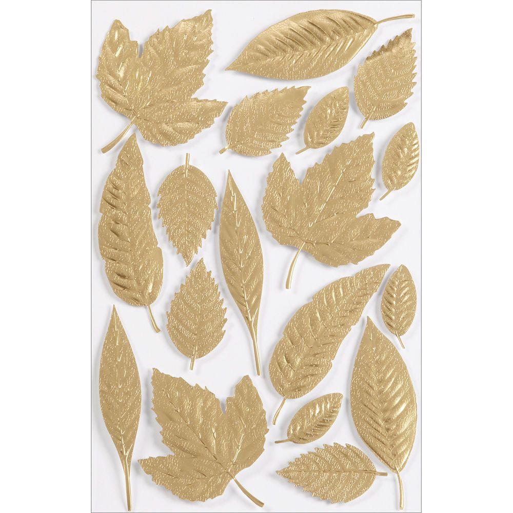 Martha Stewart Stickers-Elegant Nature Leaf 015586958416 ...